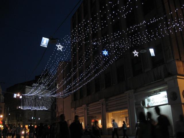 Istiklal Cadessi lights