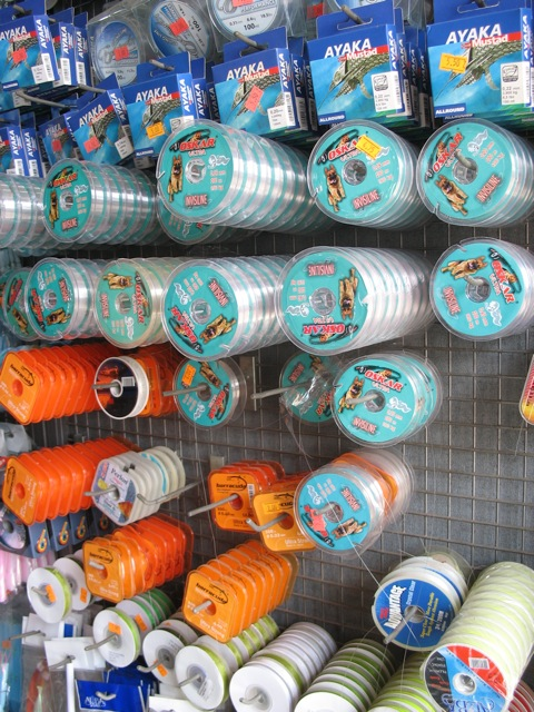 Fishing wire choices
